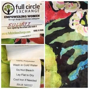 Full Circle Accessories - Empowering Woman Infinity Scarf